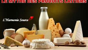 Mythe produits laitiers